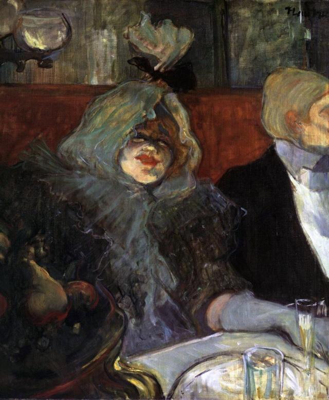 Henri de Toulouse-Lautrec, En cabinet particulier au Rat mort (1899), Courtauld Institute, Londres